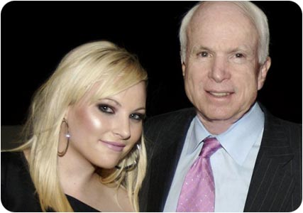 Meghan McCain and her father Sen. John McCain (R-AZ)